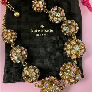 Kate Spade Crystal Orbit Necklace